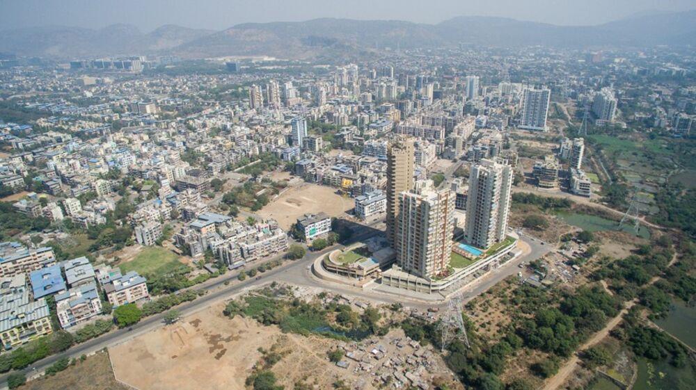 A Drone S Eye View Of Navi Mumbai S Sprawl Bloomberg