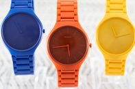 relates to Nine Brilliantly Colored Watches That Le Corbusier Would Love