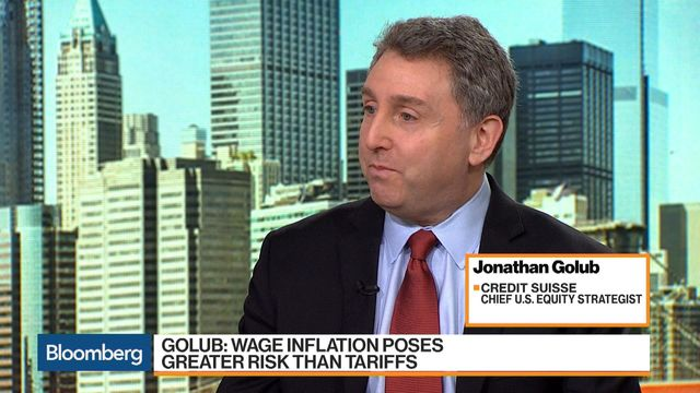 Credit Suisse's Golub Says Better Economic Data, Less Inflation Fueling Markets