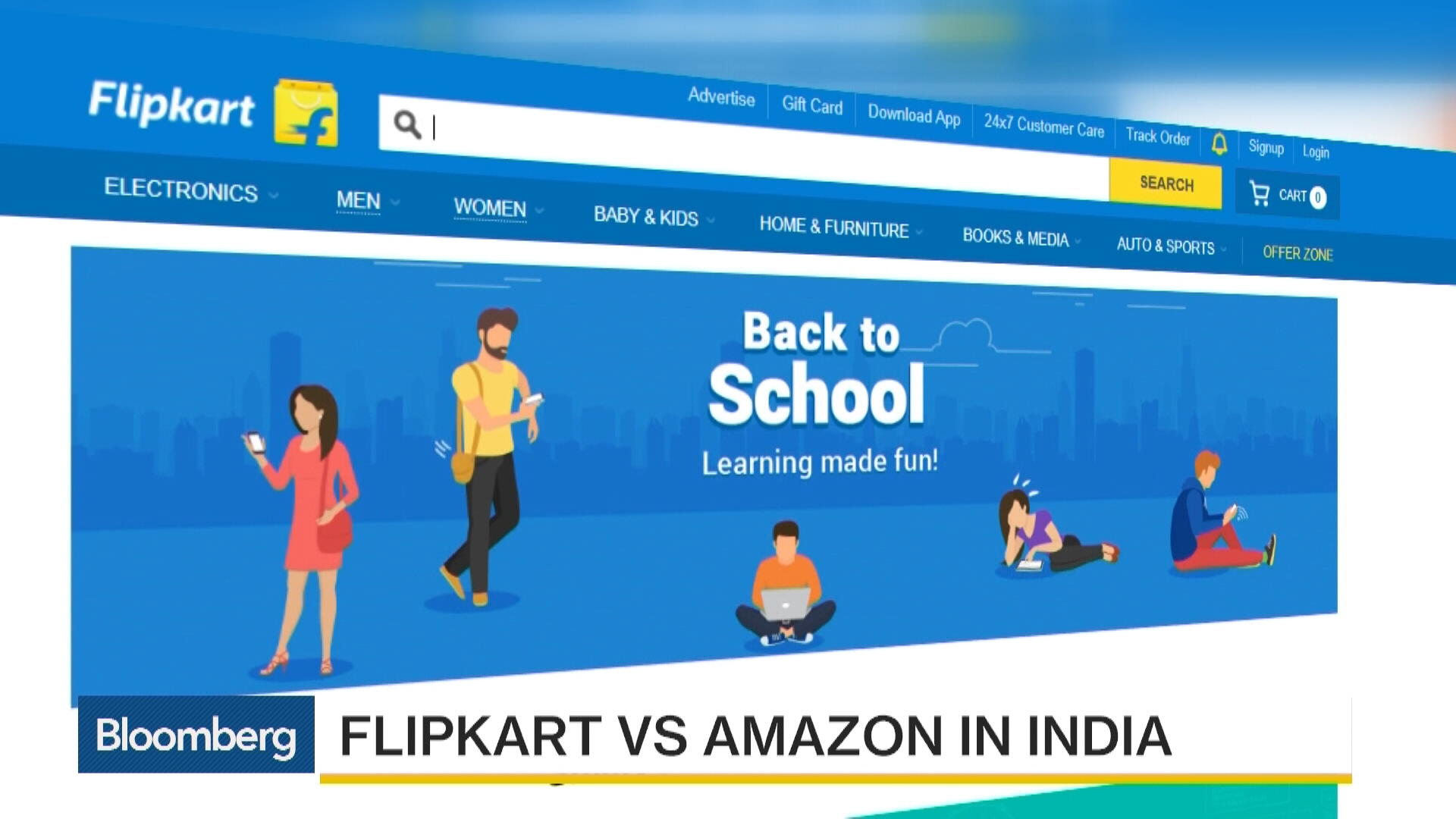 8b9fc8e333f Should India s Flipkart and Snapdeal Merge  – Bloomberg