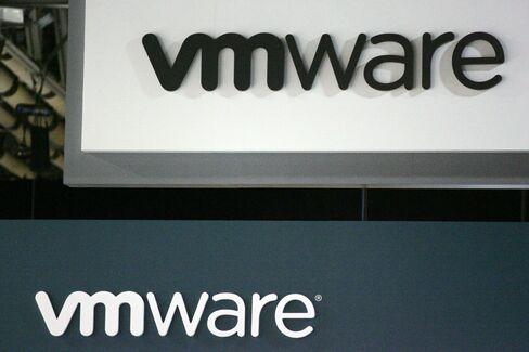 VMware Inc. Signage is seen in Las Vegas