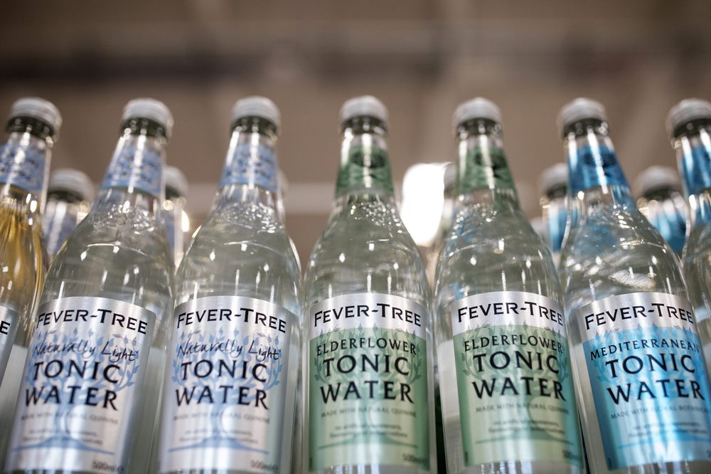 Mixer Maker Fevertree Tumbles on Muted Full-Year Results