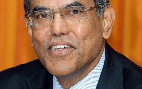 RBI Governor Duvvuri Subbarao