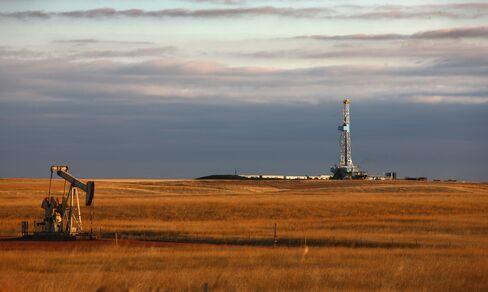 Drilling Rig on the Bakken Formation