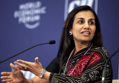 ICICI Bank CEO Chanda Kochhar