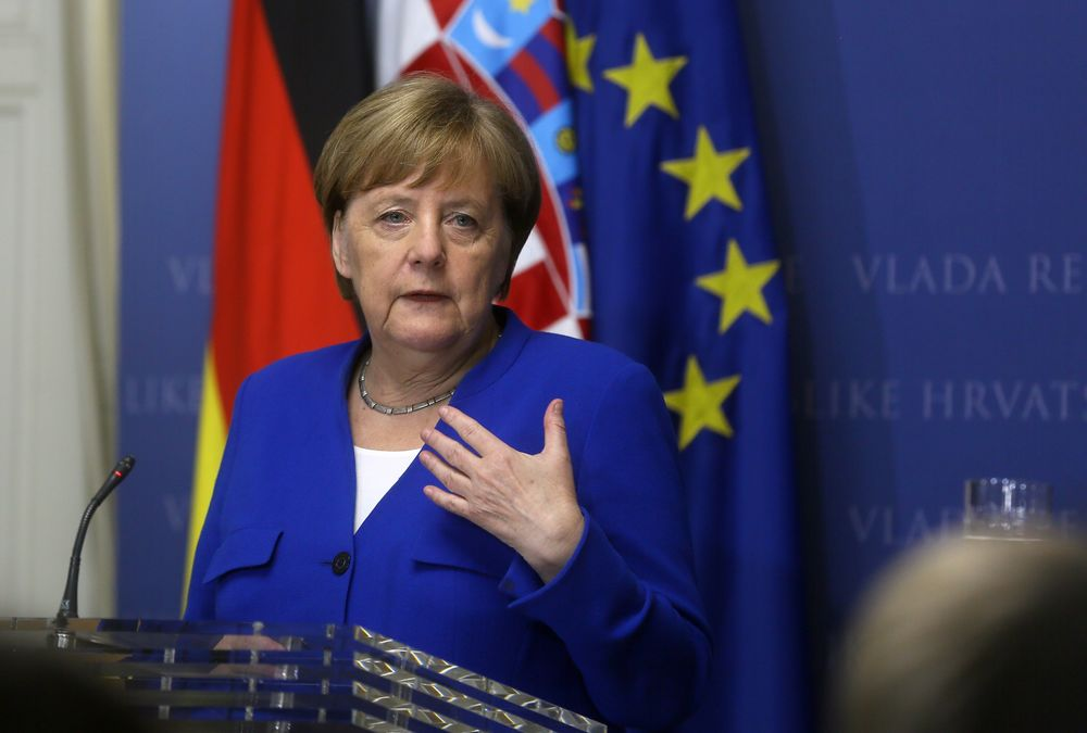 Polarized Europe Heads Into Vote With Merkel Slapping Populists