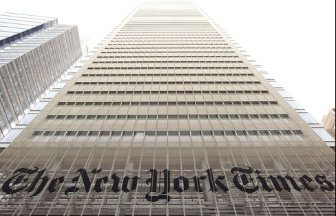 New York Times Co. Said to Put Boston Globe Division Up for Sale
