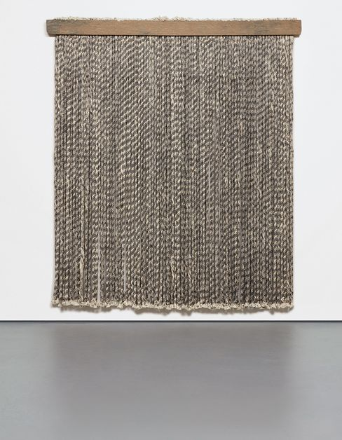 Unwound Rope Wall Piece by Dodd