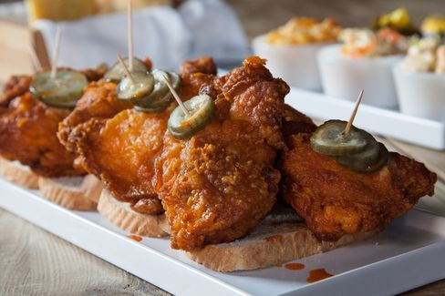 Nashville-style hot chicken, coming soon to Carla Hall's Southern Kitchen.