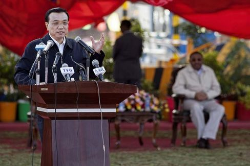 China's Premier Li Goes to Africa