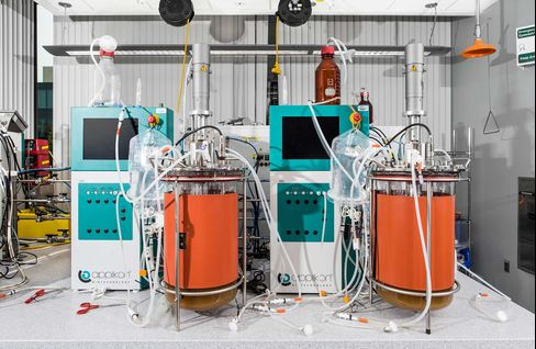 Bench-top bioreactors.