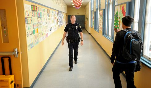 Schools Look to Armed Police After Connecticut's Shooting