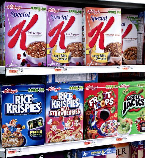 Kellogg Lowers 2010 Profit Forecast on Cereal Recall