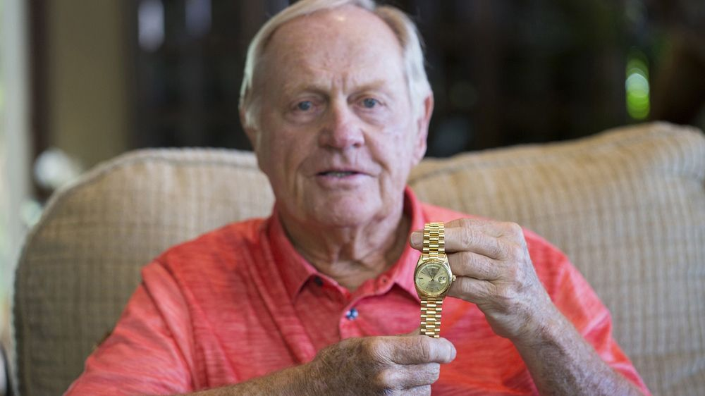Jack Nicklaus Gold Rolex Day-Date Ref  1803 at Phillips Auction