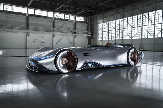 Mercedes's New Concept Car Goes Back to the Future