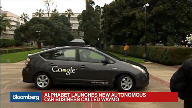 Alphabet's Waymo Cuts Cost of Key Self-Driving Sensor by 90%