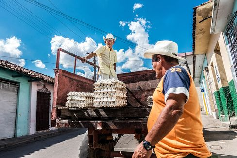 Even in the town of Sancti Spíritus, business is picking up.
