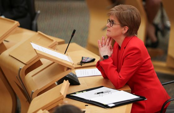 Vaccine Promise Raises Election Stakes for Scottish Leader
