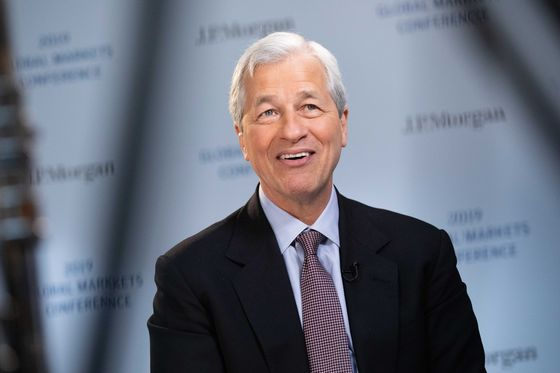 Jamie Dimon Sees Himself Atop JPMorgan for Five More Years, But Not 10