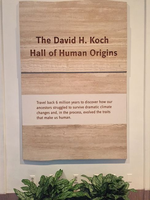 David Koch's exhibit at the Smithsonian was criticized for downplaying climate change.