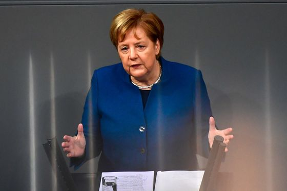 Merkel Warns U.K. It Can't Dictate Brexit Terms to Europe