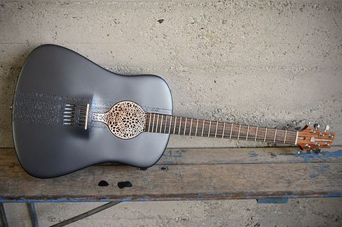 The World???s First 3D-Printed Acoustic Guitar