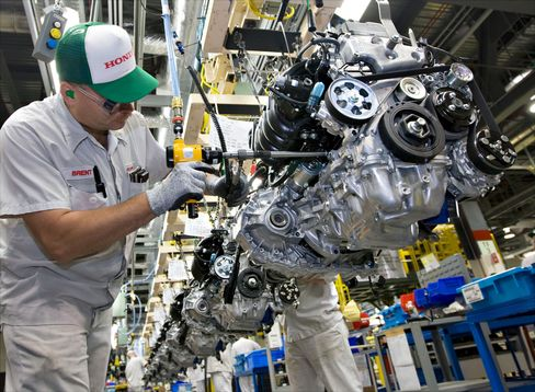 Honda Leads Surging North American Auto Output With 67% Increase