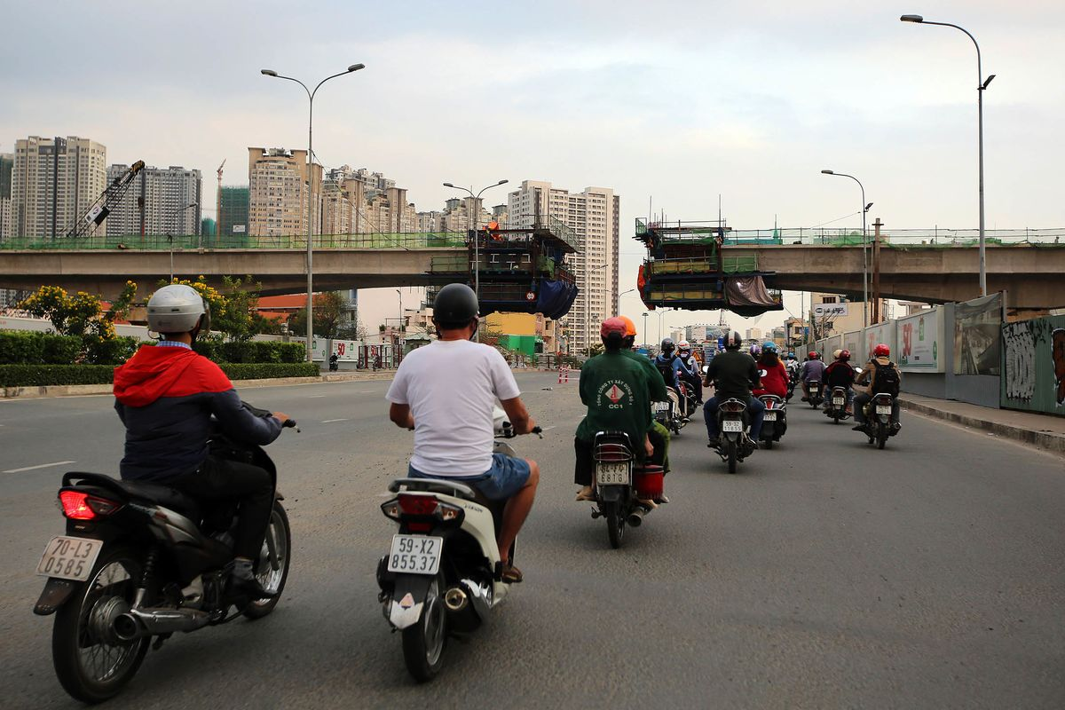 Vietnam Is Heavyweight Among Asia's Infrastructure Spenders