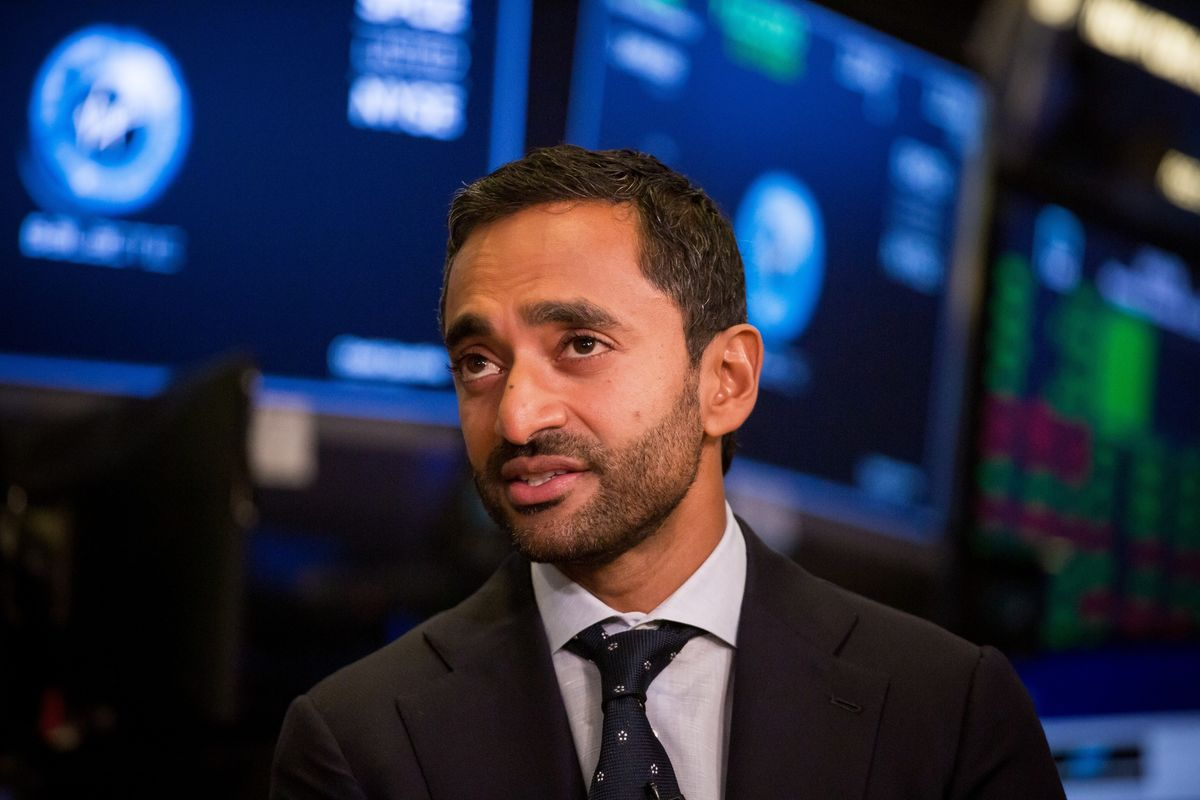 bloomberg.com - Brandon Kochkodin - SPAC Wipeout Is Punishing Followers of Chamath Palihapitiya