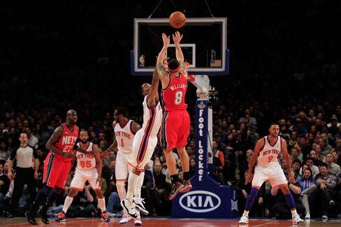 Knicks Lose to Nets as Deron Williams Overshadows Lin