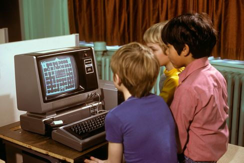 RadioShack's TRS-80 computer circa 1980s.
