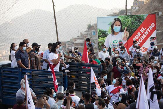 Massacre Helps Fujimori Push Tough-on-Crime Message in Peru Vote