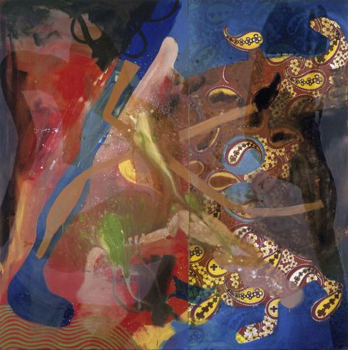 1992 Oehlen Painting