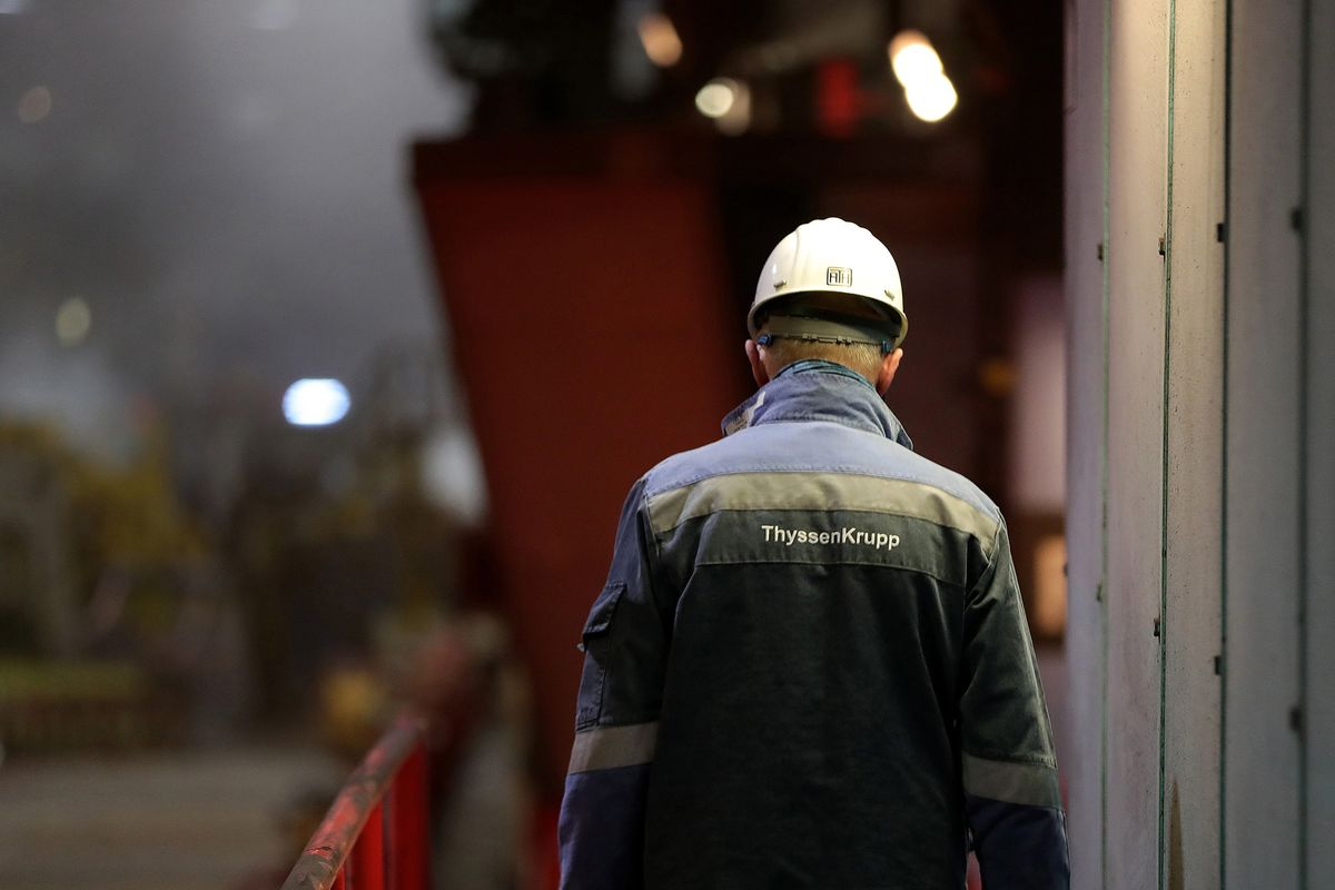 Thyssenkrupp Sees Scope for Agreement With EU on Tata Deal