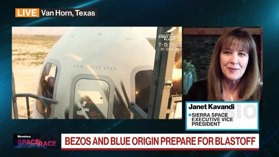 Bezos Gets Affirmation, Astronaut to Astronaut