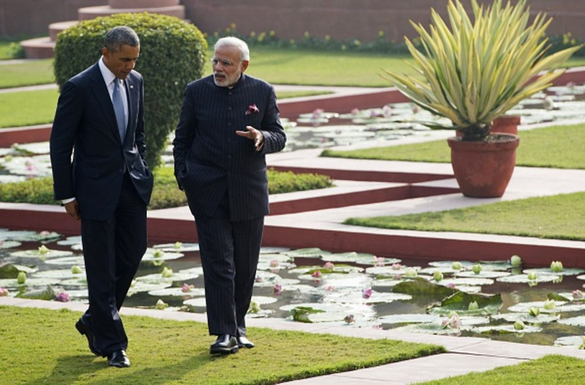 Obama and Modi Make Magic