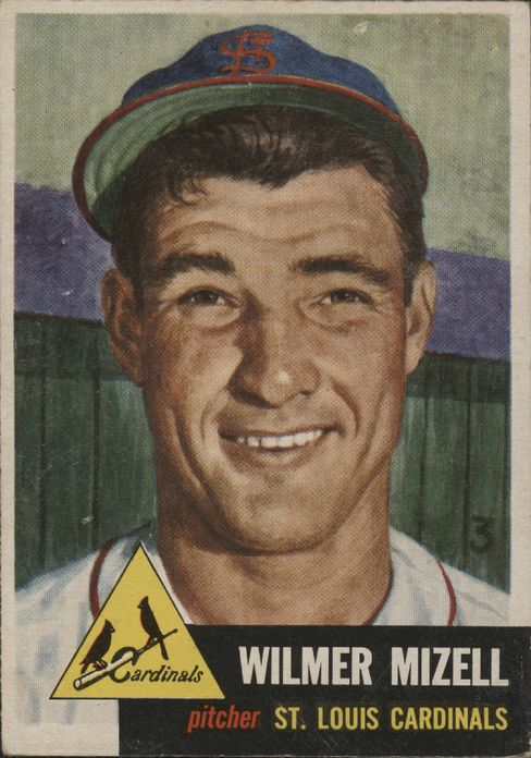 """Future Representative Wilmer Mizell of North Carolina was known as """"Vinegar Bend"""" during his professional baseball career, a reference to his Alabama hometown. Mizell pitched for the St. Louis Cardinals, the Pittsburgh Pirates, and the New York Mets before entering Congress, where he led the Republicans to (baseball) victory six times."""