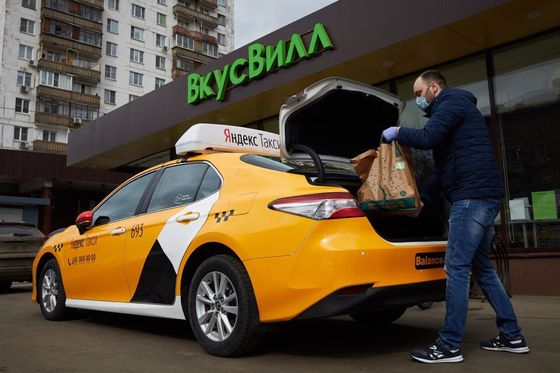 Yandex's Lockdown Delivery Pivot Is Morphing Into a New Business