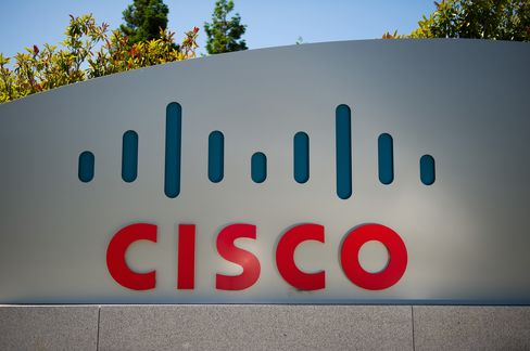Cisco Third-Quarter Profit Rises as Networking Spending Gains