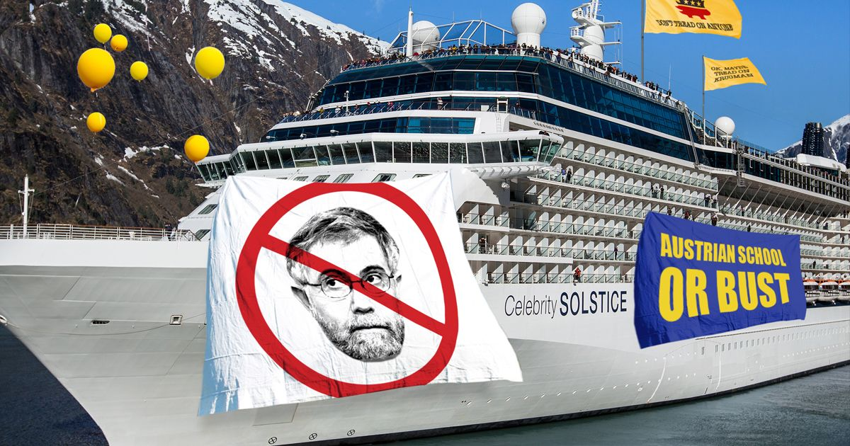 The Libertarians on the Anti-Krugman Cruise Just Want to Be Left Alone