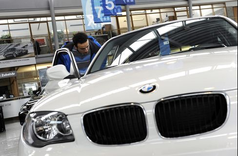 BMW's Phantom Sales in Germany Show Debt-Crisis Contagion
