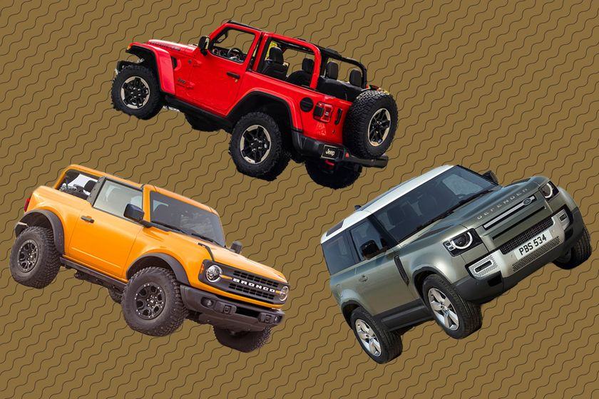 relates to How the Jeep Wrangler, Ford Bronco, and Land Rover Defender Stack Up