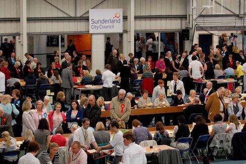 Vote Count in Sunderland in 2010