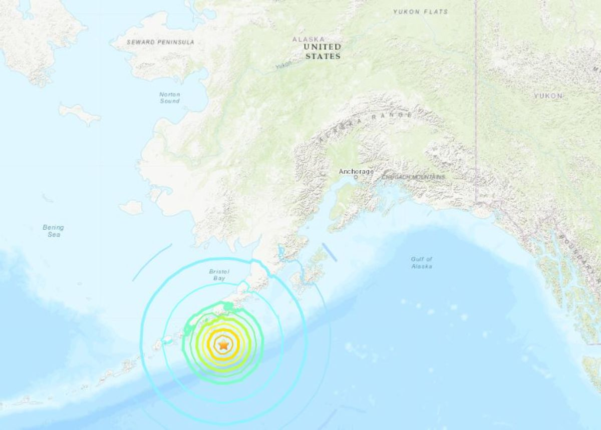 7.4 Magnitude Quake Off Alaska Prompts Tsunami Warning
