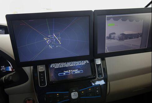 Nissan Autonomous Drive Leaf Electric Vehicle