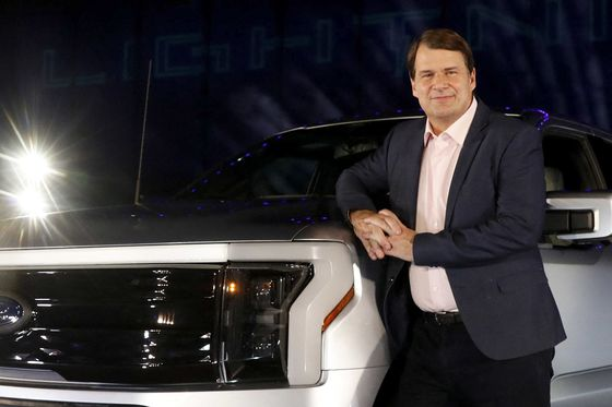 Ford CEO Sees Better Result on 'Breathtaking' Rise in Prices