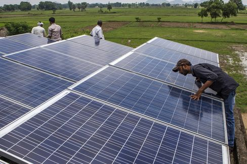 Solar Rooftop Panels and Microgrids in Rural India