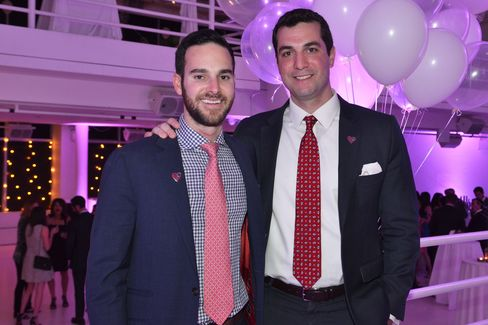 Noah Cooper and Rob Sanzillo. Photographer: Amanda Gordon/Bloomberg