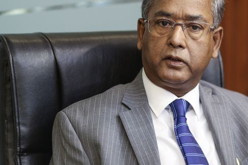 Securities And Exchange Board Of India Chairman U. K. Sinha