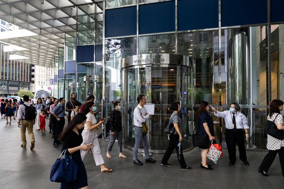 How Citigroup, Morgan Stanley Are Returning to Offices in Asia